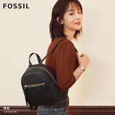 FOSSIL MEGAN 黑色真皮迷你背包ZB7693001