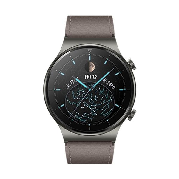 贈多項好禮【高飛網通】 HUAWEI WATCH GT2 Pro智慧型手錶 時尚款 星雲灰 免運 台灣公司貨 原廠盒裝