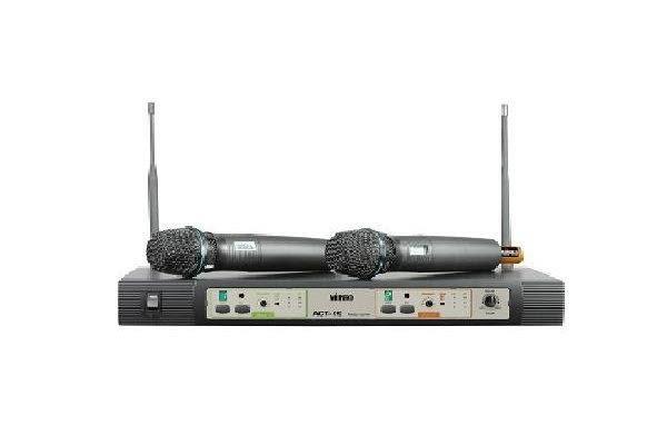 【金聲樂器廣場】 Mipro ACT-99 UHF 雙頻道自動選訊無線麥克風系統
