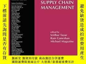 二手書博民逛書店Quantitative罕見Models For Supply Chain Management (interna
