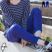‧HL超大尺碼‧【14051011】台灣製MIT☆獨家個性豹紋窄管褲 2色