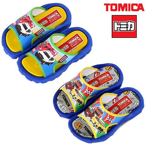 男童 TOMICA 1818/1822多美小汽車 台灣製造一片寬版柔軟腳墊厚底舒適 休閒拖鞋 兒童拖鞋 59鞋廊