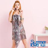 【夏之戀SUMMERLOVE】浪漫百搭款沙龍/外搭紗裙-E12735