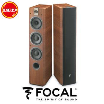法國 Focal Chorus 726 落地型主聲道喇叭 (胡桃木色) (一對)  送北區精緻安裝乙式