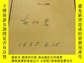 二手書博民逛書店SURVEY罕見REVIEW Jan. 1989Y28433 S