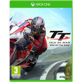 XBOX ONE 曼島摩托車賽 邊緣競速 -中文版- TT Isle of man Ride on the Edge 曼島TT MotoGP Ride
