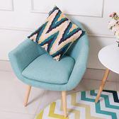 現貨  北歐現代簡約懶人沙發椅臥室小戶型單人客廳休閒布藝陽台迷你沙發 ATF 伊衫風尚