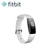 【Fitbit】Inspire HR 智能健身手環 黑框白錶帶