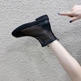 短靴 馬丁靴女夏季薄款英倫風夏天短靴百搭透氣網靴鏤空靴子-Ballet朵朵