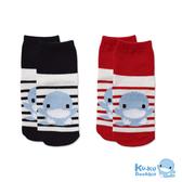 酷咕鴨 KUKU 經典條紋兒童襪 (顏色隨機) 0-12月適用