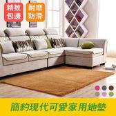 地毯 簡約現代臥室房間可愛家用地墊客廳沙發長方形床邊榻榻米-多色可選【虧本衝量】 優惠三天