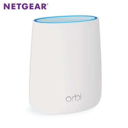 《NETGEAR》Orbi Micro AC2200 高效能三頻Mesh WiFi延伸衛星-RBS20