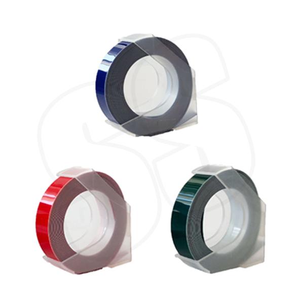 MoTEX 9mm 立體 打標機 色帶 3D 膠帶 標籤機 標籤帶