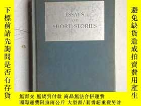 二手書博民逛書店ESSAYS罕見AND SHORT STORIES (硬精裝,3
