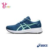 ASICS慢跑鞋 女鞋 PATRIOT 12 跑步鞋 輕量運動鞋 入門款 亞瑟士 B9174#藍色◆OSOME奧森鞋業