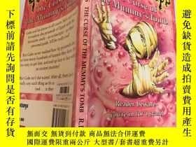 二手書博民逛書店the罕見curse of the mummy s tomb 木乃伊墓的詛咒Y200392