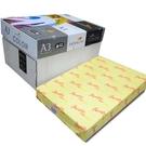 【奇奇文具】PAPER LINE 160 / 80P / A3 正黃 影印紙 (500張入/包)