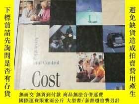 二手書博民逛書店【英文原版】Cost罕見Management: Accounti