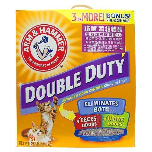 【 培菓平價寵物網 】鐵鎚牌《凝結貓砂》雙效加強除臭配方26.3磅