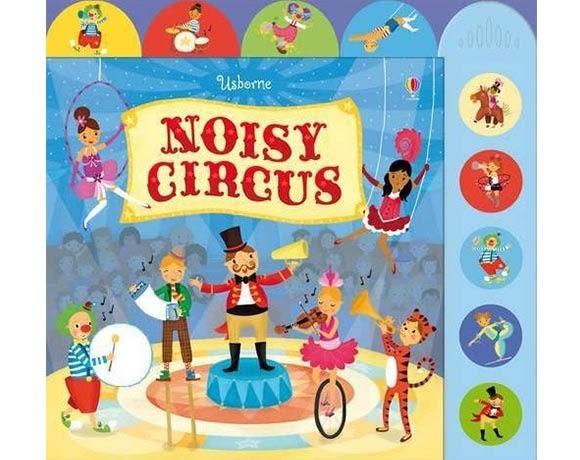 Noisy Circus 瘋狂馬戲團 精裝硬頁有聲書