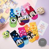 正韓直送【K0410】韓國襪子 迪士尼繽粉點點短襪 韓妞必備 卡通襪  阿華有事嗎