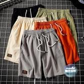 沙灘褲 夏季男士寬鬆休閒短褲夏男生薄款速幹五分褲潮流INS青少年大褲衩 6色