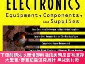 二手書博民逛書店The罕見Tab Electronics Yellow Pages: Equipment Components A