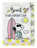 【卡漫城】 Snoopy L字型 五層 資料夾 沙灘 ㊣版 文件  日本製 史努比 史奴比 花生漫畫 糊塗塔克