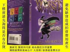 二手書博民逛書店the罕見worst witch 最壞的女巫..Y200392