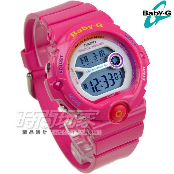 Baby-G BG-6903-4B 桃紅 計時碼表 日期 運動錶 女孩潮流錶 女錶 CASIO卡西歐 BG-6903-4BDR 電子錶 學生錶