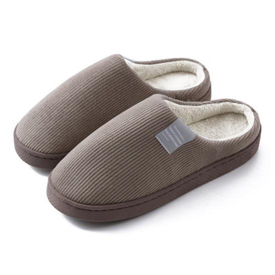 拖鞋 室內拖鞋 室內鞋 絨毛拖鞋 半包式 棉拖鞋 保暖拖鞋 加絨 日式 保暖情侶拖鞋【Z176】MY COLOR