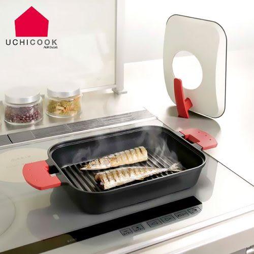 《逸品軒》CHICOOK第二代日本製水蒸氣式健康蒸煮燒烤盤[金屬蓋]-紅UCS15RD
