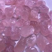 天然馬粉粉晶原石