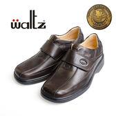 Waltz-新一代金牌獎專利輕呼吸氣墊鞋32007-03(咖)