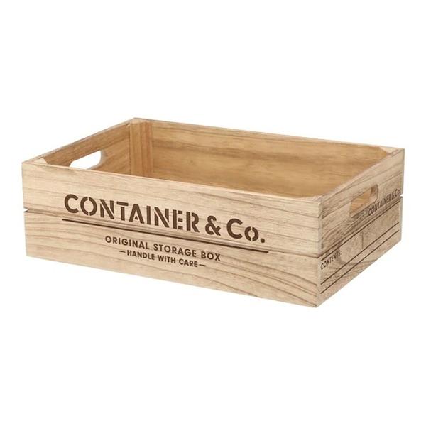 木製收納盒 SHACK2 寬低型 橫式半格型 NA NITORI宜得利家居