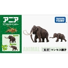 TOMICA AL07 長毛象親子 多美動物園 AN83642 TAKARA TOMY