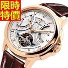男款手錶鏤空機械錶-別緻新品精選陀飛輪男腕錶8色54t6【巴黎精品】