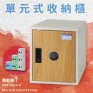 【台灣製】附鑰匙鎖 KDF-2014-F 單元式收納櫃 可組合 置物櫃 娃娃機店 泳池 圖書館