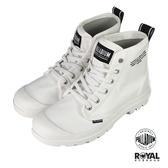 Palladium Pampa 白色 布質 高筒 軍靴 男女款NO.B1341【新竹皇家 76258-102】