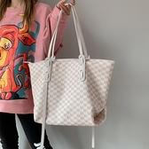 側背包 高級小包包女大容量2021新款潮網紅手提側背包百搭通勤托特斜背包 韓國時尚週