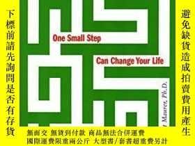 二手書博民逛書店One罕見Small Step Can Change Your Life-一小步就能改變你的生活Y436638