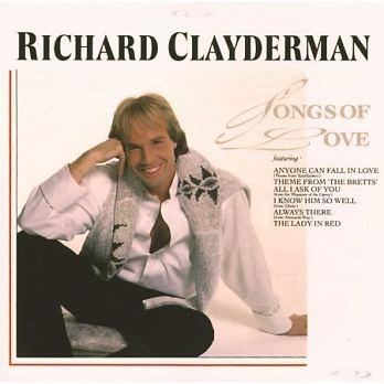 理查克萊德門 真愛一世琴 CD Richard Clayderman Songs Of Love 免運 (購潮8)