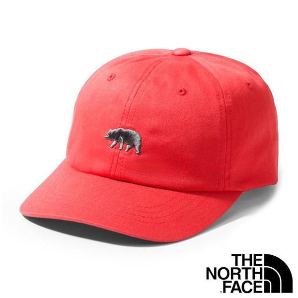【THE NORTH FACE 美國】中性 THE NORM 經典 棒球帽『J03 紅』NF0A355W 戶外 登山 時尚 遮陽帽
