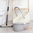 釣魚桶 家用塑料長方形拖把桶加厚大水桶儲...