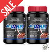 【加拿大ALLMAX】奧美仕ALLWHEY CLASSIC經典乳清蛋白巧克力口味飲品2瓶 (907公克*2瓶) 效期2020/04