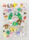 【震撼精品百貨】Sugarbunnies 蜜糖邦尼~三麗鷗蜜糖邦尼耶誕貼紙(L)#33503