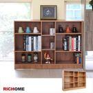 【RICHOME】BO338《多用途九格書櫃/收納櫃》 公文櫃/系統櫃/層架/工作桌/床頭櫃