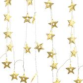USB星星燈串-五角大星(黃光)