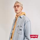 Levis 男款 牛仔襯衫 / 寬鬆休閒版型 / 刺繡Ser