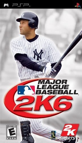 PSP Major League Baseball 2K6 美國職棒大聯盟2K6(美版代購)